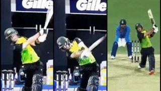 India vs Australia 1st T20I Brisbane: Glenn Maxwell Rips Apart Krunal Pandya, Hits Him For Three Consecutive Sixes | WATCH