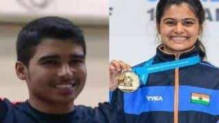 Asian Airgun Championships: Manu Bhaker-Saurabh Chaudhary Win Mixed Event Gold With Junior World Record