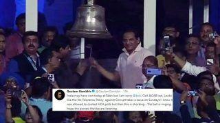India vs West Indies 1st T20I Kolkata: Gautam Gambhir Slams BCCI, CoA, CAB For Allowing Mohammed Azharuddin to Ring Bell at Eden Gardens