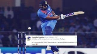 India vs West Indies 2nd T20I Lucknow: Rohit Sharma Slams Record-Breaking 4th T20I Hundred, Surpasses Colin Munro to Register Most Tons, Twitter Erupts