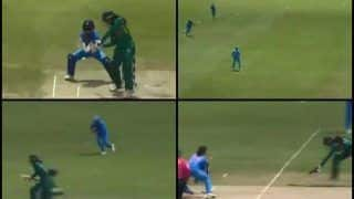 India Women vs Pakistan Women ICC Women's World T20: Jemimah Rodriguez Does a Ravindra Jadeja, Affects a Brilliant Runout to Send Omaima Sohail Packing -- WATCH