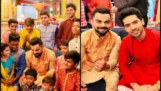 Virat Kohli Shares Pictures From 'Memorable' Diwali With Dharavi Rocks, Armaan Malik | PICS