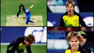 India vs Australia 1st T20I: Adam Zampa Over The Moon After he Gets India Captain Virat Kohli | WATCH