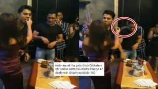 Was Hardik Pandya 'Smoking' Something at Sakshi's Birthday Party in MS Dhoni's Presence? Fans Feel so | WATCH