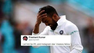 Cricket Australia XI vs India: KL Rahul Trolled For Yet Another Failure With The Bat