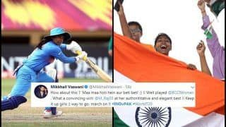 India Women vs Pakistan Women ICC Women's World T20: Mithali Raj, Poonam Yadav Power Harmanpreet Kaur-Led India to Seven Wicket Win, Twitter Explodes