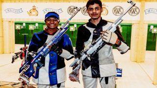 India's Divyansh Singh Panwar Wins Silver, Bronze For Elavenil Valarivan in Asian Championship