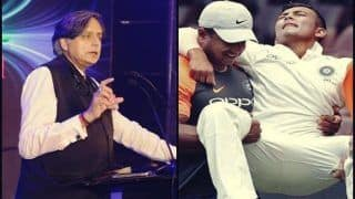 India vs Cricket Australia XI: Congress Leader Shashi Tharoor's Tweet on Prithvi Shaw After Being Ruled Out of Adelaide Test Highlights Cricketer's Growing Popularity