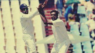 India vs Cricket Australia XI: Ravichandran Ashwin-Rishabh Pant Combine to Runout Param Uppal | WATCH