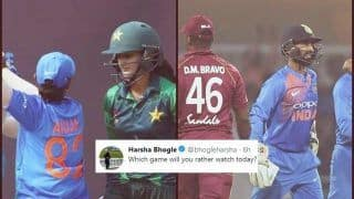 Rohit Sharma's India vs Windies 3rd ODI or Harmanpreet Kaur's India Women vs Pakistan ICC Women World T20: Harsha Bhogle Asks Tricky Question