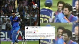 Sushant Singh Rajput Recalls MS Dhoni's Six in The 2011 World Cup Final And It's a Gem | WATCH