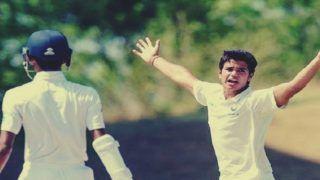Sachin Tendulkar's Son Arjun Picks 5-Wicket Haul, Runs Through Delhi Batting Line-up With His Fiery Spell in U-19 Cooch Behar Trophy | WATCH