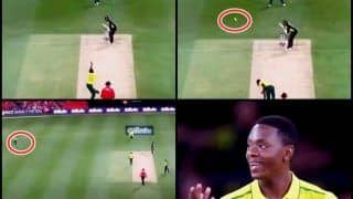 Australia vs South Africa One Off T20I: Kagiso Rabada Bowls Worst Ball in History to Glenn Maxwell, Delivery Finishes at Point | WATCH