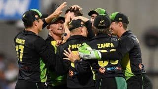 India vs Australia 2018, 1st T20I at The Gabba: Virat Kohli-Led India Fall Short By Four Runs in Series Opener Against Australia Despite Shikhar Dhawan's Brilliant Fifty