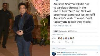 Adnan Sami Clarifies After Fake Tweet Revealing Climax of Shah Rukh Khan's Movie Zero Goes Viral