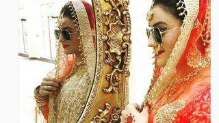 भोजपुरी अदाकारा अक्षरा सिंह बनी दुल्हनिया लेकिन दिखाया दबंग अंदाज, शेयर की तस्वीर