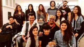Arjun Kapoor Shares Pic of Janhvi, Khushi And Anshula Celebrating Their Dad Boney Kapoor's Birthday Together