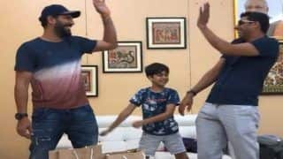 Yuvraj Singh Teases Ashish Nehra For Being Schooled By His Own Son About Performing 'Backpack Kid Dance Challenge' | WATCH VIDEO