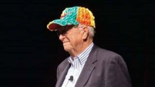 Bill Gates Shares Photo of His Father Wearing a Baseball Cap Made Out of Condoms