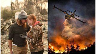 कैलिफोर्निया के जंगलों में भीषण आग: मरने वालों की संख्या बढ़ कर 80 हुई, 990 लोगों का कुछ पता नहीं