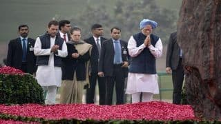 PM Modi Pays Tribute to India's Former PM Indira Gandhi on Her 101st Birth Anniversary; Congress President Rahul Gandhi, Former PM Manmohan Singh Offer Floral Tribute