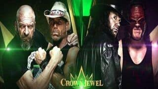 WWE Crown Jewels 2018 Live Streaming, Updates And Results - When And Where to Watch Online