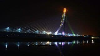 Delhi: Man Skids Off Motorcycle And Falls to Death at Signature Bridge; Third Death Within Two Days