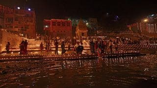 Dev Deepavali in Varanasi in November is a Sight to Behold