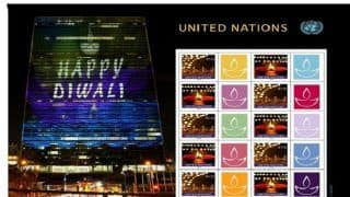 United Nations Postal Administration Issues Special Diwali Stamps