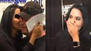 WWE's Undertaker Kissed by Female Fan at Public Event : Watch Video