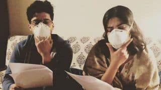 Farhan Akhtar And Priyanka Chopra Beat Delhi Pollution With Masks as They Gear up For 'The Sky is Pink'