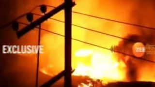 Major Fire Breaks Out Near Patna Railway Station in Bihar; Over 10 Shops, Huts Gutted, Damage Worth Lakhs Reported