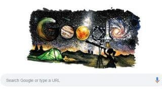 Children's Day 2018: Picture Depicting Galaxy, Space Exploration Chosen as This Year's Google Doodle