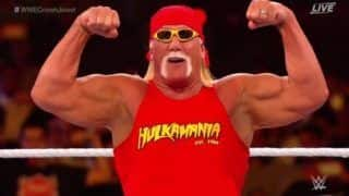 WWE Crown Jewels Host, Legendary Hulk Hogan Makes Electrifying Comeback--Watch Video