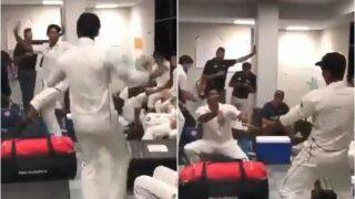 Ish Sodhi, Jeet Raval And New Zealand Players Perform 'Bhangra Steps' After Thrilling 4-Run Victory Over Pakistan in 1st Test | WATCH VIDEO