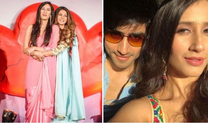 Bepannaah Actors Jennifer Winget And Harshad Chopra Share a