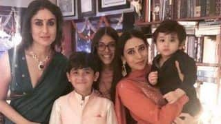 Karisma Kapoor Posts Family Picture on Diwali And as Usual It's Taimur Who Grabs The Limelight