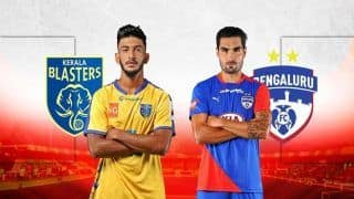 Indian Super League 2018-19: Kerala Blasters vs Bengaluru FC Live Streaming - When And Where to Watch Online, Preview, Team News, Timing IST