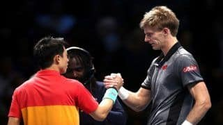 Kevin Anderson Hammers Kei Nishikori in Nitto ATP Finals, to Take on Roger Federer Next