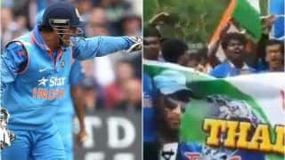 India vs West Indies 5th ODI: MS Dhoni Receives Huge Reception From Crazy Fans After Virat Kohli-Led India Register Emphatic Series 3-1 Win Over Windies | WATCH VIDEO