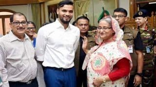 Mashrafe Mortaza, Bangladesh's ODI captain, Wins Parliamentary Elections From Narail-2 Constituency