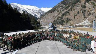 PM Narendra Modi Celebrates Diwali With Indian Army, ITBP Troops at Uttarakhand's Harsil
