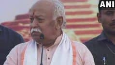 'What   s Happening in Bengal Today Shouldn   t Have Happened', Says RSS Chief