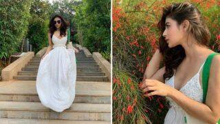Naagin Fame Mouni Roy Looks Uber Hot in Backless White Gown as She Visits Atmantan Resort For Some Relaxing Time - See Pictures