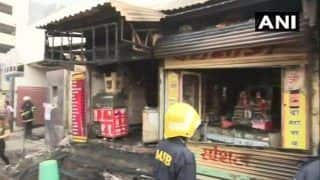 Maharashtra: Fire Breaks Out in Four Shops in Mumbai's Byculla Area; no Casualties Reported