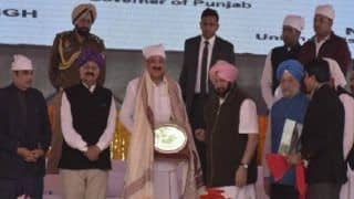 Venakaiah Naidu Lays Foundation Stone For Kartarpur Corridor, Thanks Pakistan For Its Co-operation