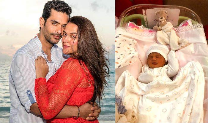 Neha Dhupia, Angad Bedi reveal newborn daughter's name, share first pic