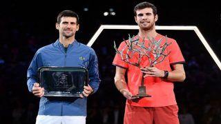 Unseeded Karen Khachanov Stuns Novak Djokovic to Clinch Title in Paris Masters