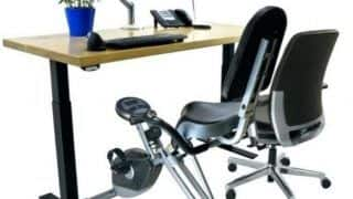 Study Finds Insulin Levels Following a Meal Were Lower When Sedentary Workers Used a Pedal Desk