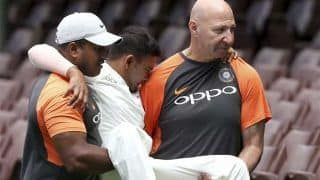 India vs Cricket Australia XI: Prithvi Shaw Picks up Horrific Ankle Injury, Will be Unavailable For Adelaide Test, Confirms Amitabh Choudhary